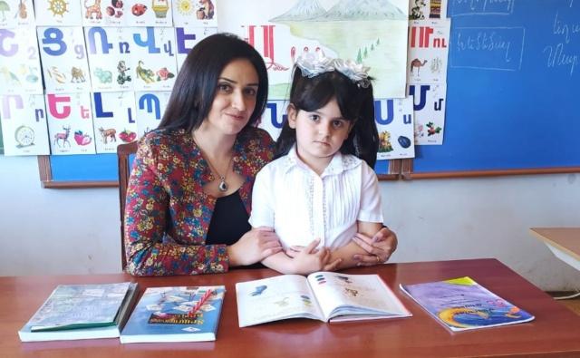 Thumbnail для -  Моника Бадикян, 7 лет, Лорийская область, Армения